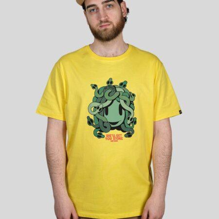 The Dudes Merdusa Tee in Yellow
