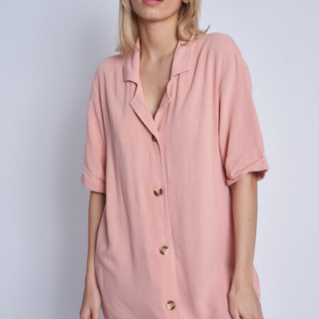 Native Youth Rosewood Maxi Dress in Pink