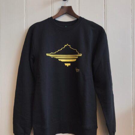 Fishboy PZ Black Men's Mount Sweater