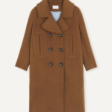Libertine-Libertine Include Coat in Camel