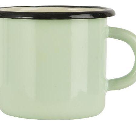 Enamel Mug in Mint Green