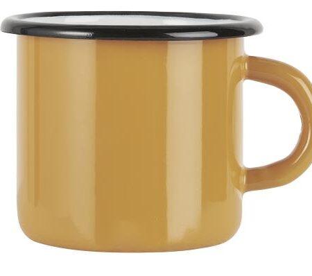 Enamel Mug in Mustard