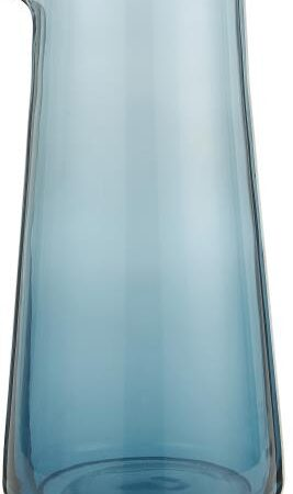 Glass Pitcher in Blue