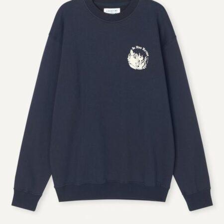 Libertine-Libertine Society Veritas Sweater in Navy